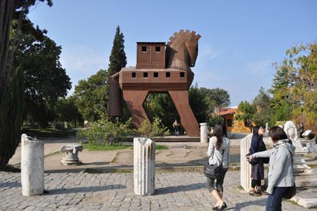 トルコ旅行記 トロイの木馬