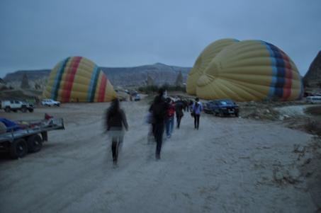 トルコ旅行記 気球