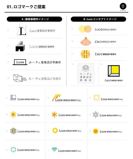 建築事務所ロゴデザイン