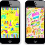 iPhone壁紙デザイン
