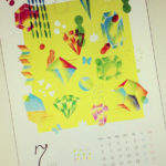 7月のカレンダー作りました