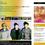 Room 1th Anniversary Webサイト