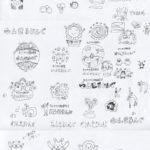 おでかけ運動教室 ロゴデザインプロセス